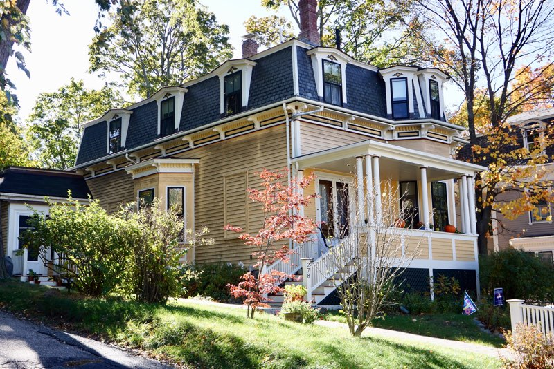 Brookline home with mildew