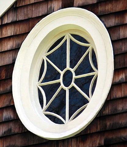 The window is restored to its former beauty