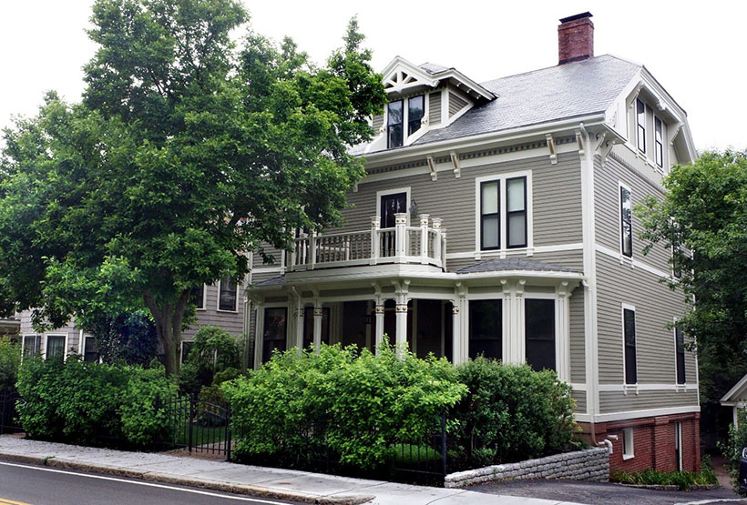 Historic home in Brookline, Mass.