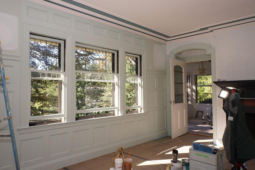 Windows in historic home