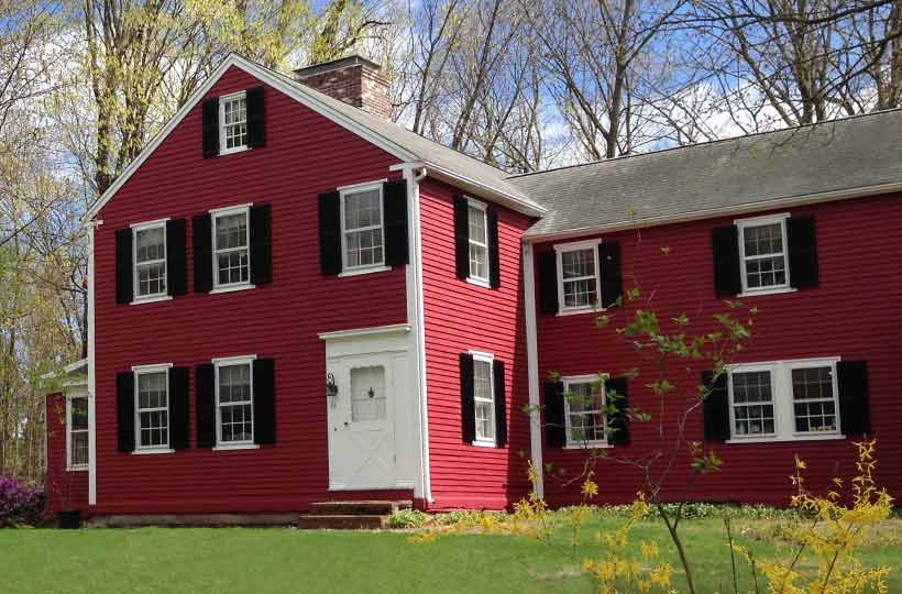 Osborne farmhouse, Stow, Mass.