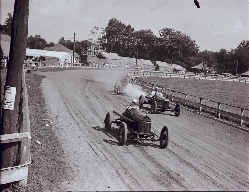 Races at Topsfield Fair, 1933.