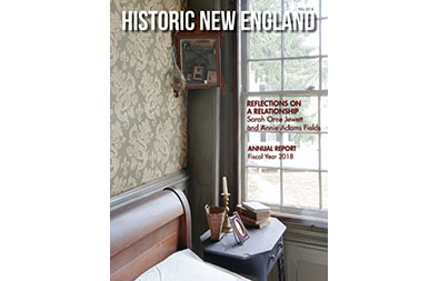 Cover of Fall 2018 issue of Historic New England magazine