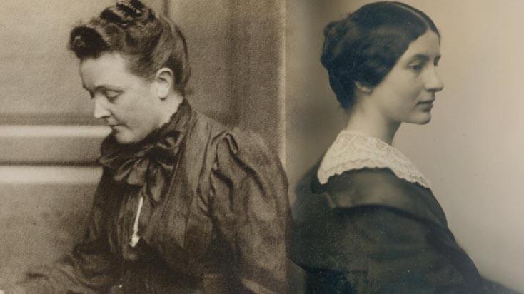 Portraits of Sarah Orne Jewett and Annie Fields