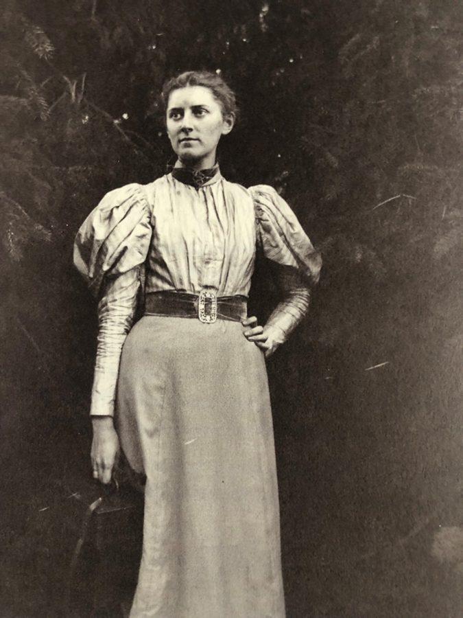 Margaret Sutermeister self portrait