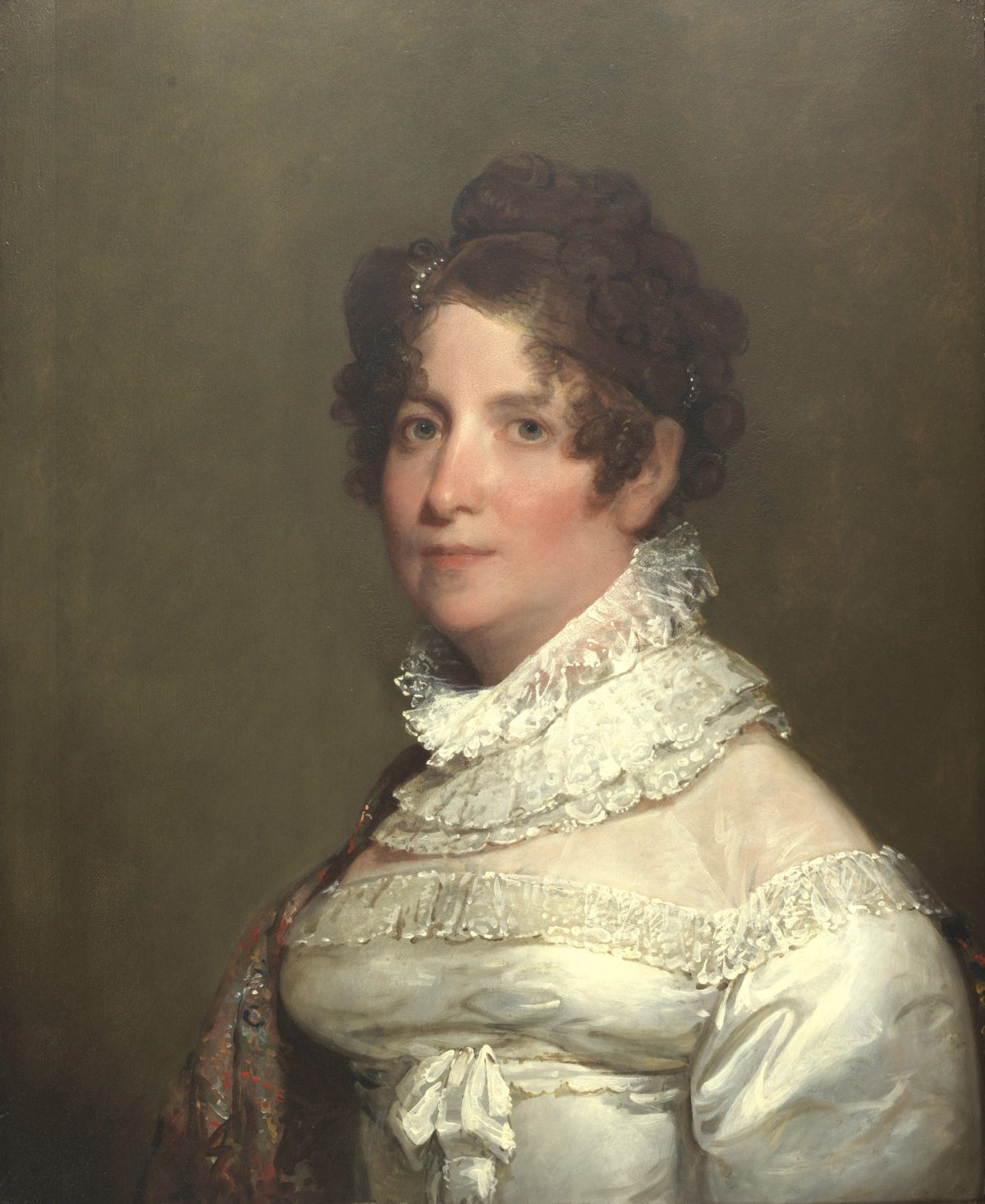 Gilbert Stuart portrait of Clementina Beach