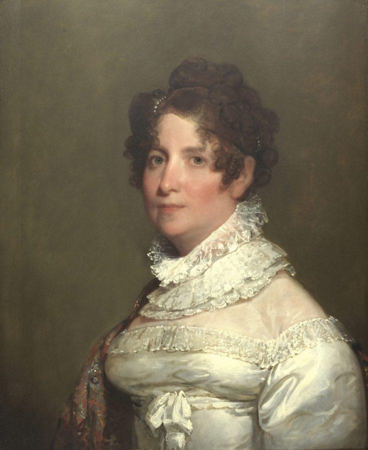 Gilbert Stuart portrait of Clementina Beach