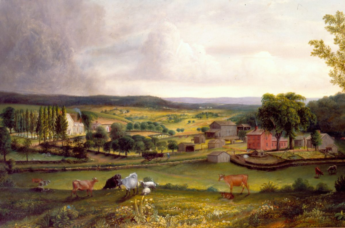 James Sawyer landscape of Chandler Farm