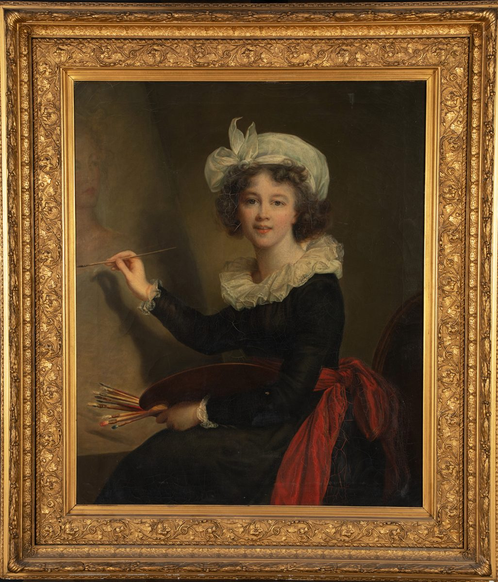Portrait of Vigee LeBrun by Elizabeth Adams