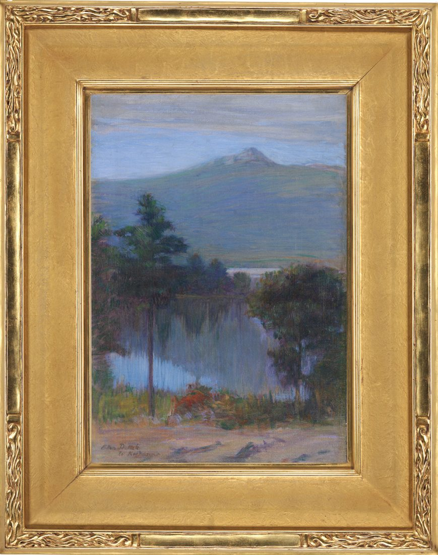 Mt. Chororua painting by Ellen Day Hale