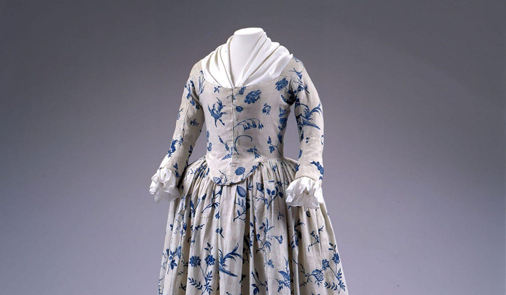 Deborah Sampson's wedding dress