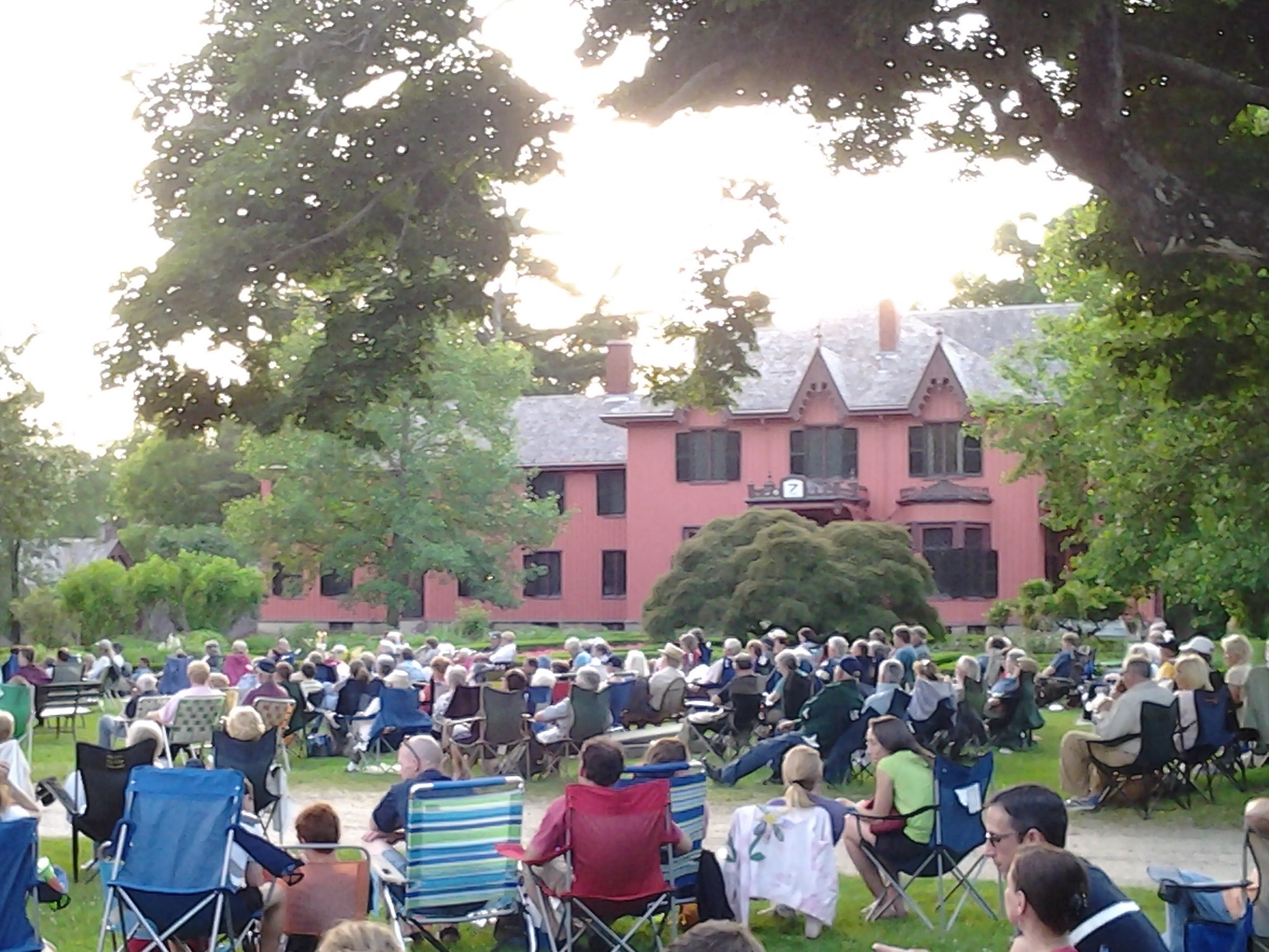 """Summer Twilight Concert Series @ Roseland Cottage, the """"Pink House"""""""