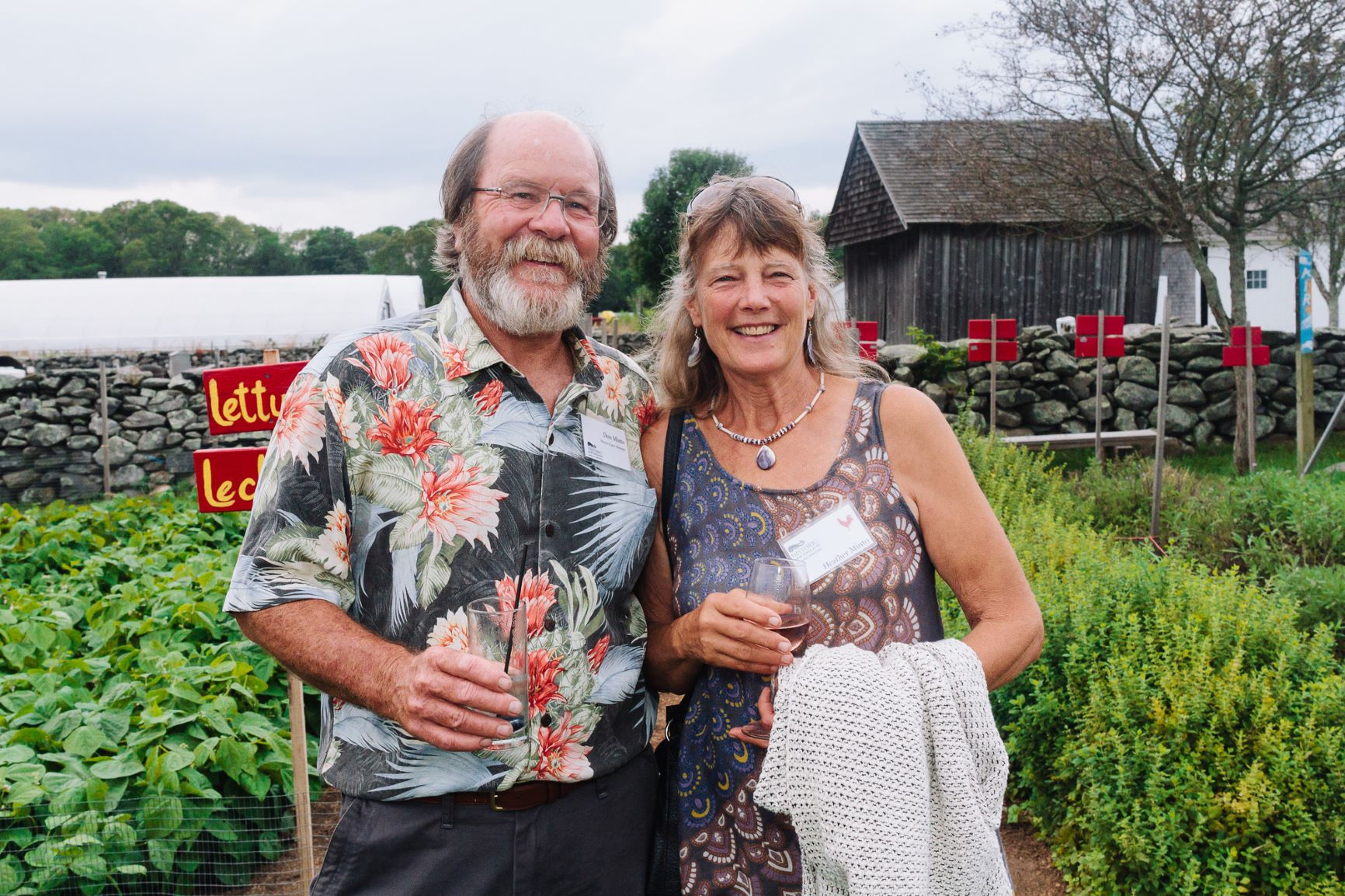 Don and Heather Minto at Feast for the Farm