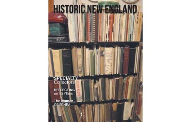 Cover of the winter 2020 issue of Historic New England magazine