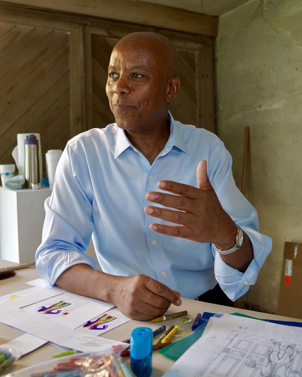 Artist Richard Haynes