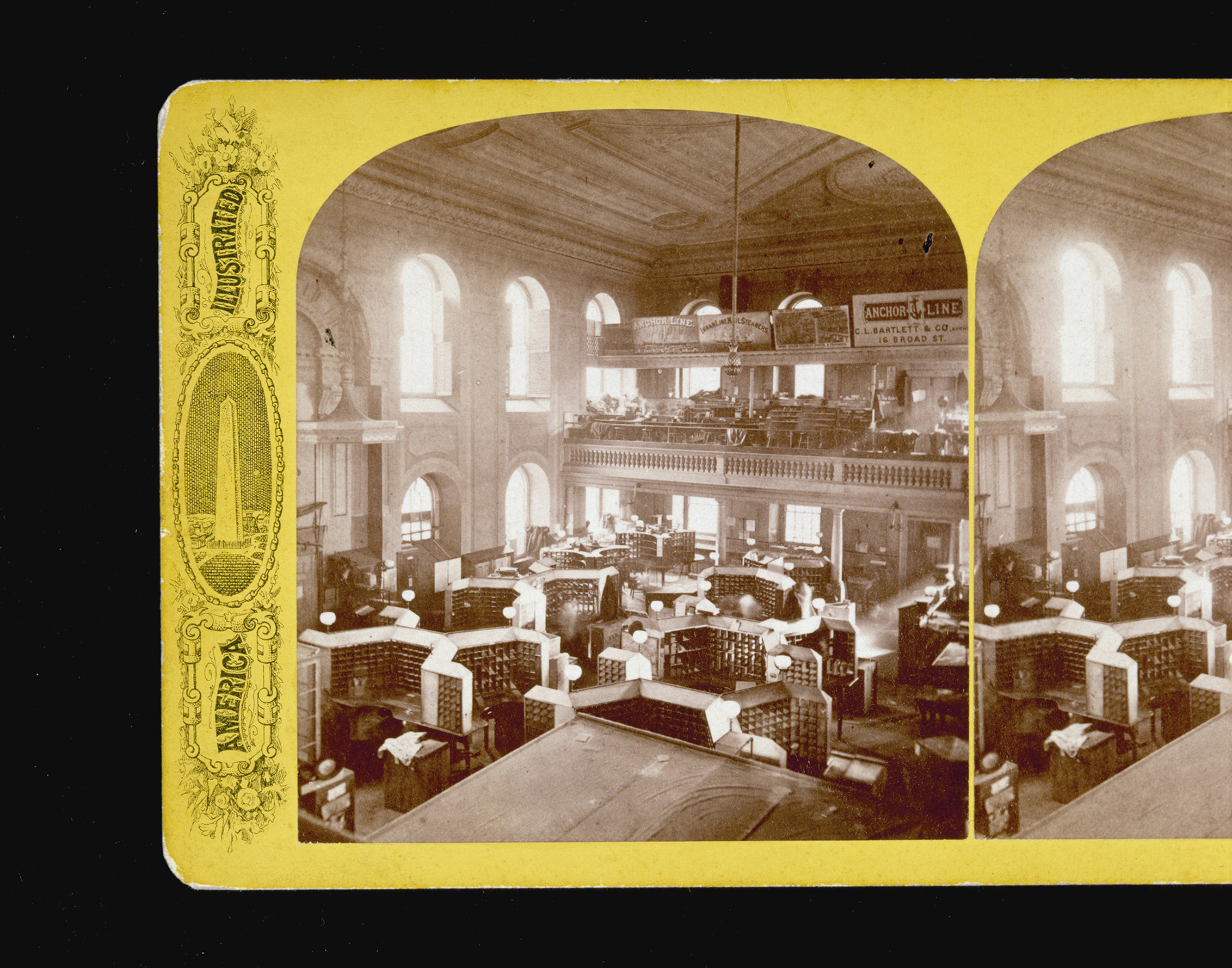 Old South Meeting House when used as a post office