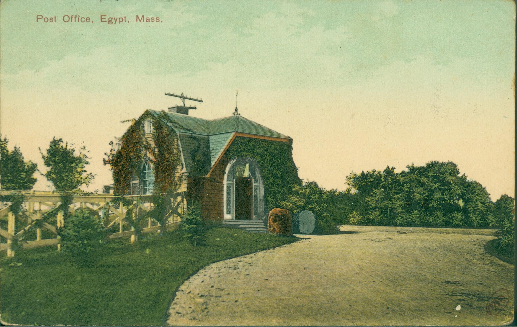 Egypt Mass., post office