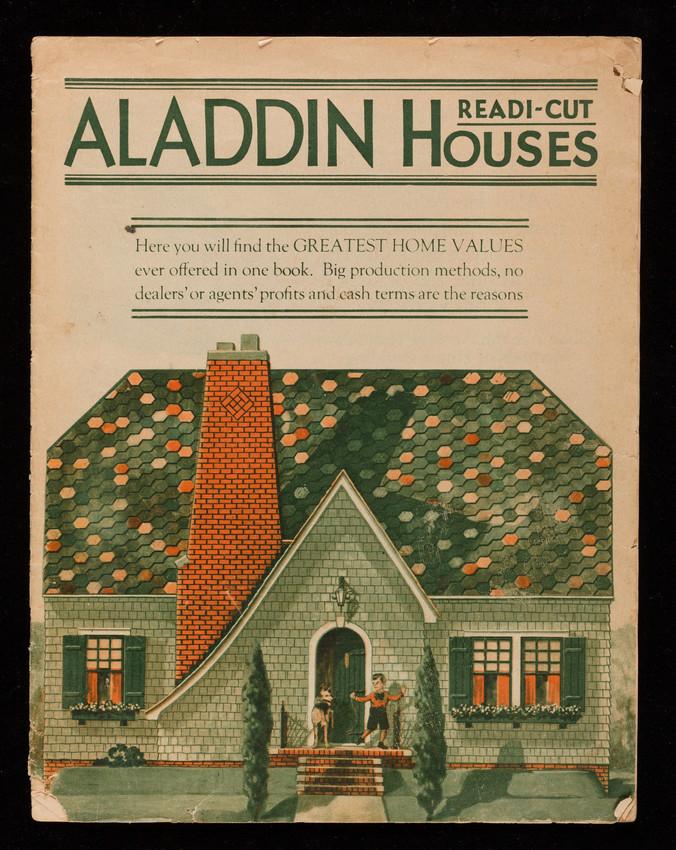 Magazine cover of Aladdin Houses