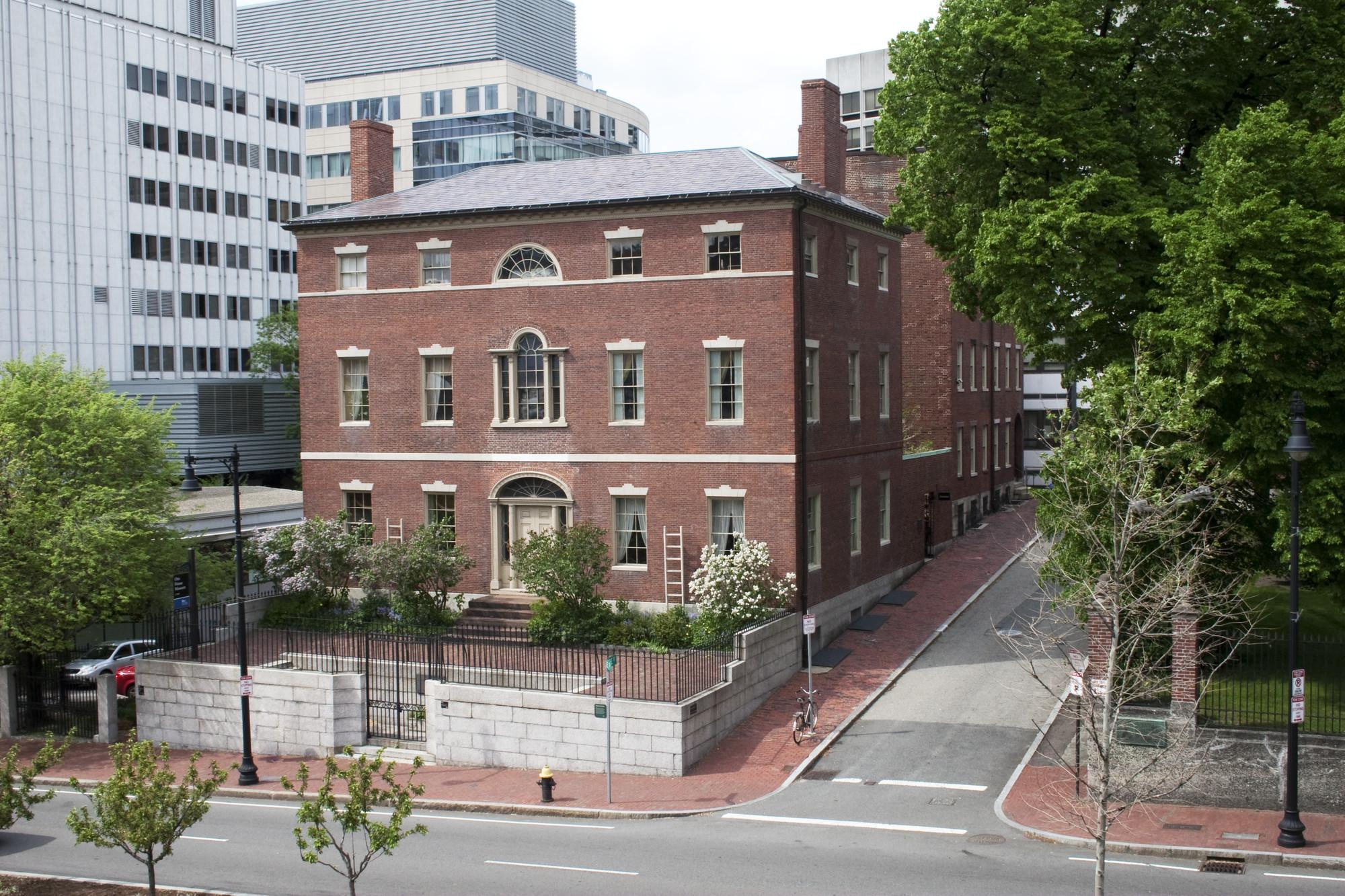 Otis House  brick exterior