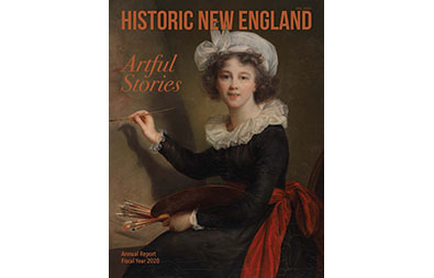 Fall 2020 Cover of Historic New England Magazine