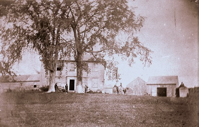 Archival image of Bowman House exterior