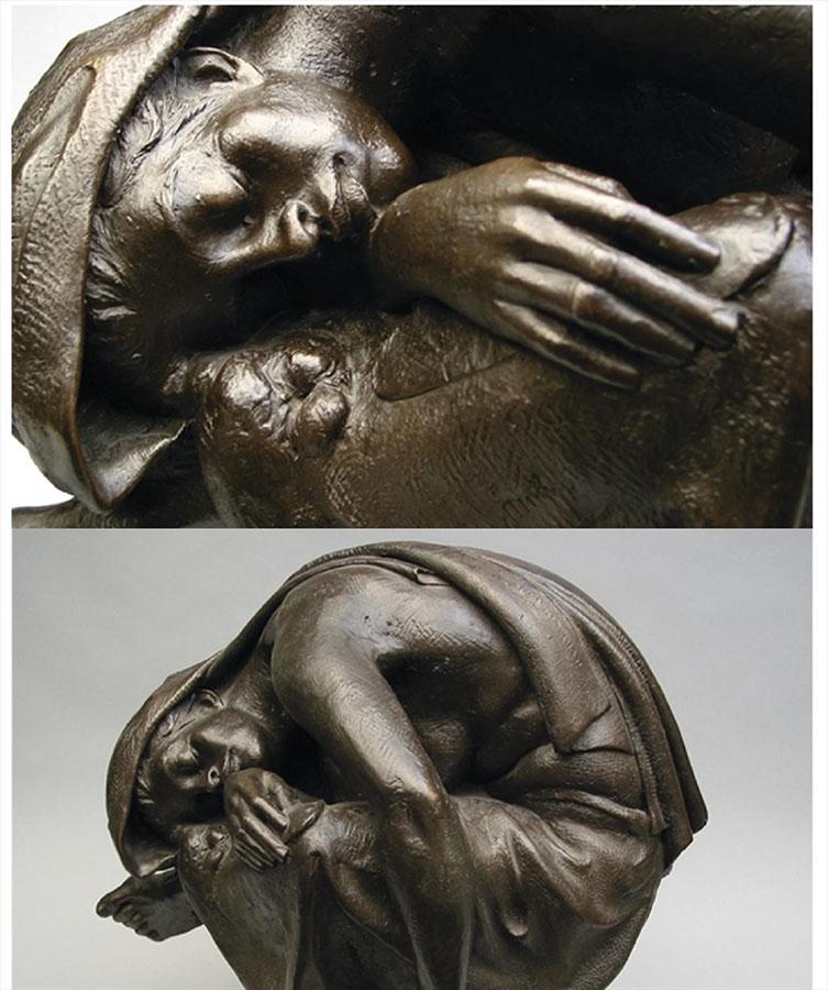 Richard Blake's Charwoman sculpture