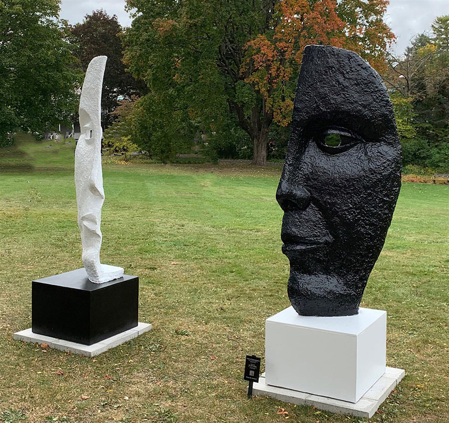 Michael Alfano's Gates of Transcendence sculpture