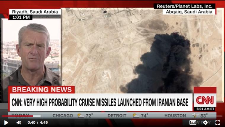 oil attack on Saudi Arabia