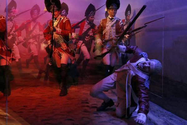 Yorktown's American Revolution Museum integrates cutting