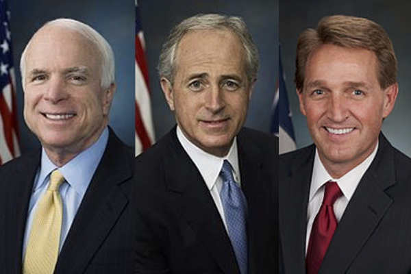 Image result for MCCAIN CORKER FLAKE