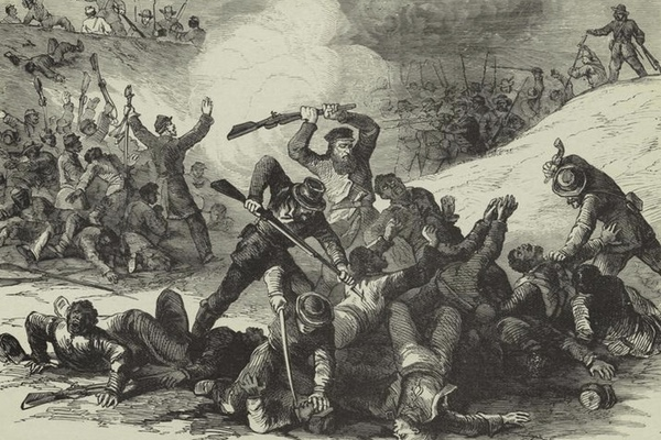 This Massacre of Black Soldiers During the Civil War Is