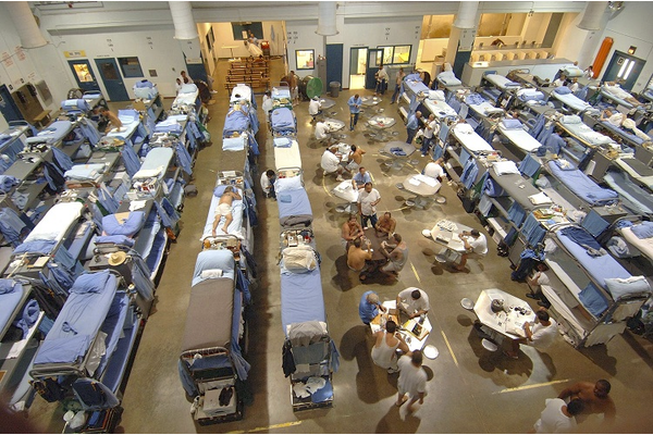 Living facilities in California State Prison (July 19, 2006)