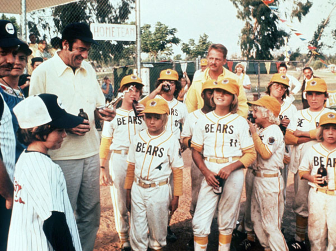 Great Moments in Cinematic Drinking: The Bad News Bears photo