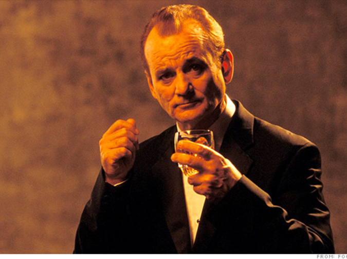 GREAT MOMENTS IN CINEMATIC DRINKING: Lost in Translation photo