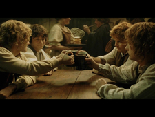 Great Moments in Cinematic Drinking: Lord of the Rings: The Return of the King photo