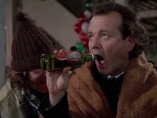 Great Moments in Cinematic Drinking: Scrooged photo