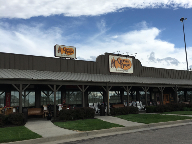 Chain Restaurants, Reviewed with Poems: Cracker Barrel photo