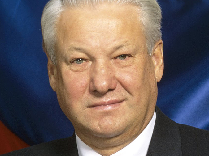 Boris Yeltsin Roots through Your Pantry photo