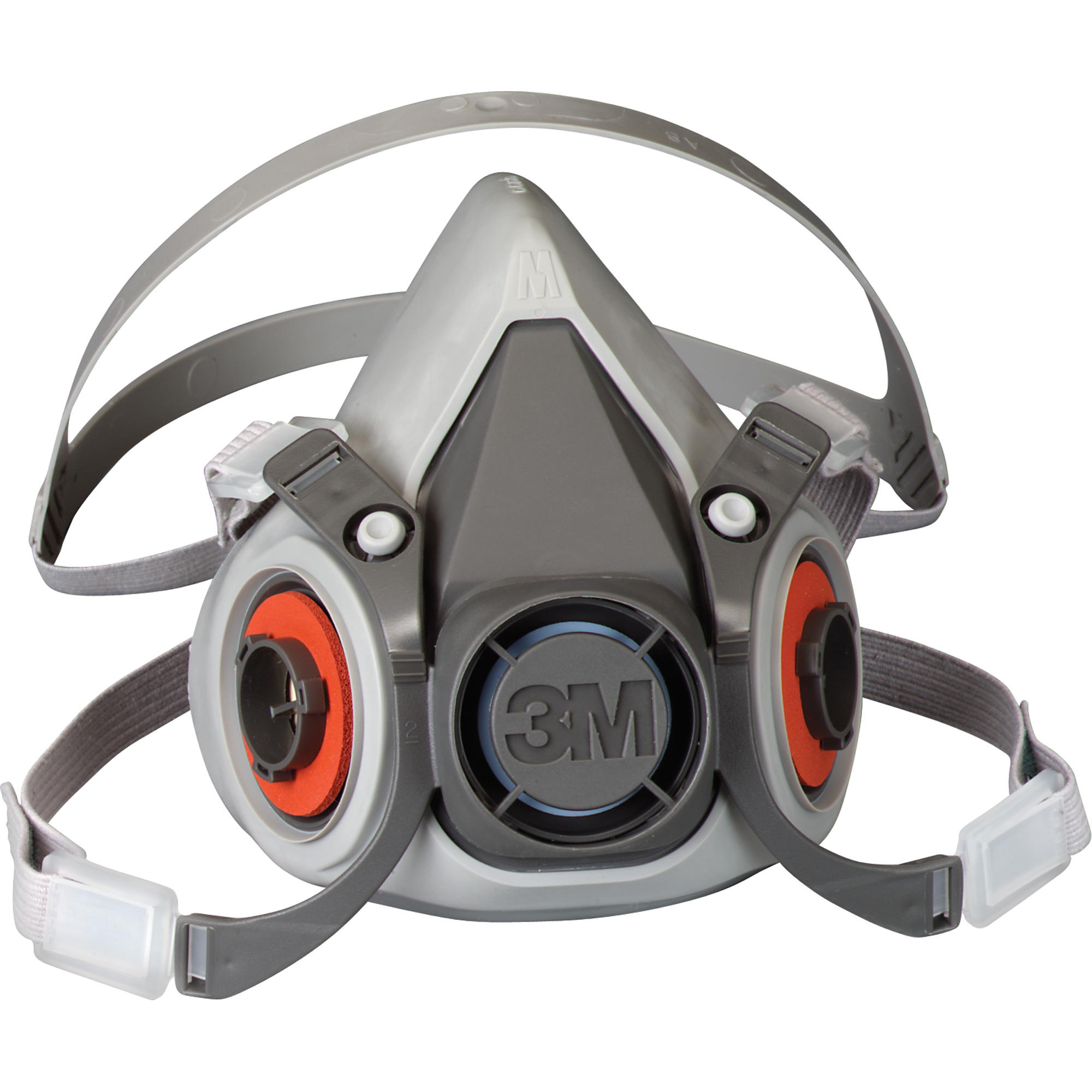 3M 6000 Series Half Facepiece Reusable Respirator Mask (Medium)