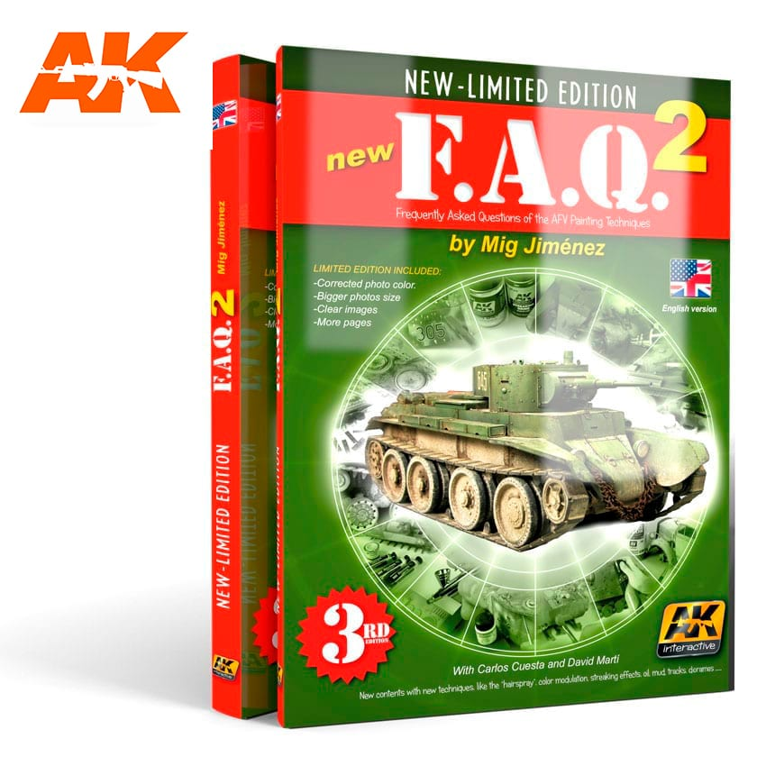 AK Interactive FAQ VOL.2 - English 4th edition