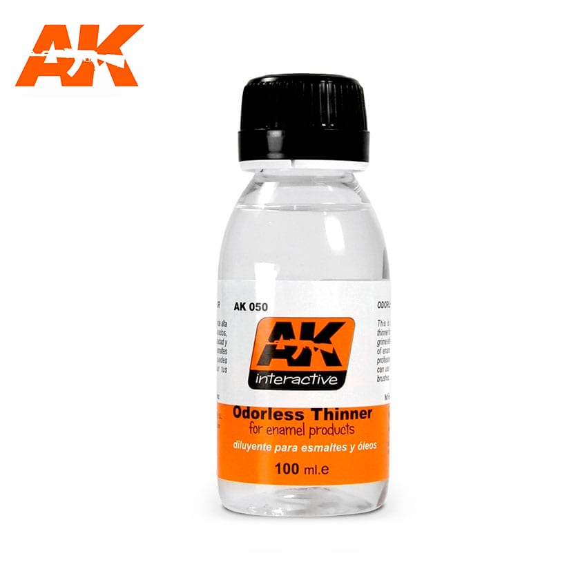 AK Interactive Odorless Turpentine 100ml
