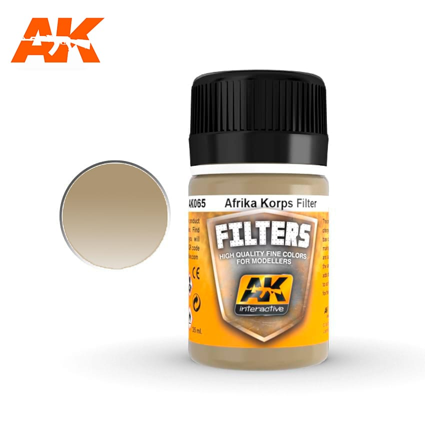 AK Interactive Filter For Afrika Korps Vehicles