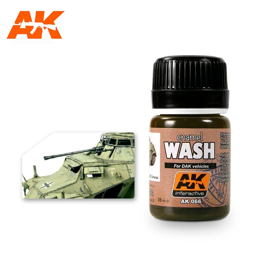 AK Interactive Wash For Afrika Korps Vehicles