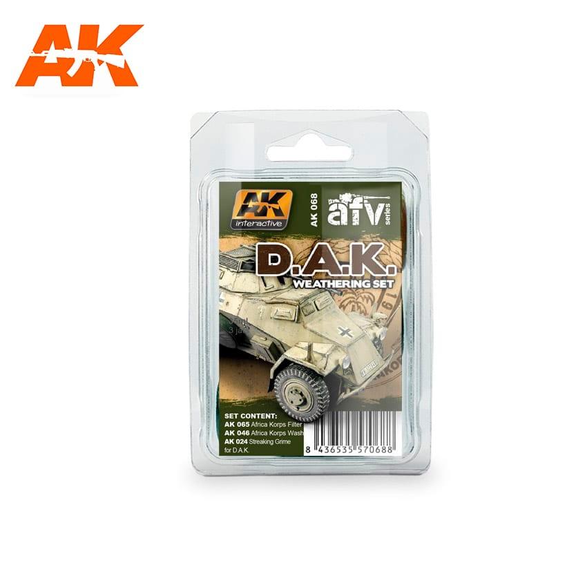 AK Interactive Afrika Korps Weathering Set