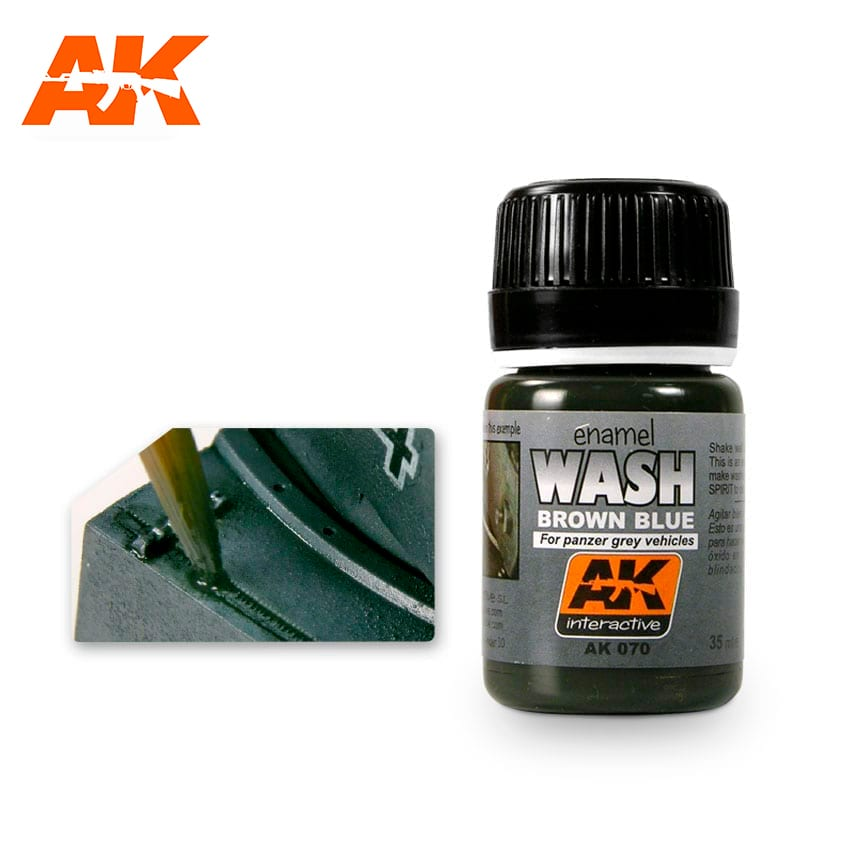 AK Interactive Wash For Panzer Grey Vehicles