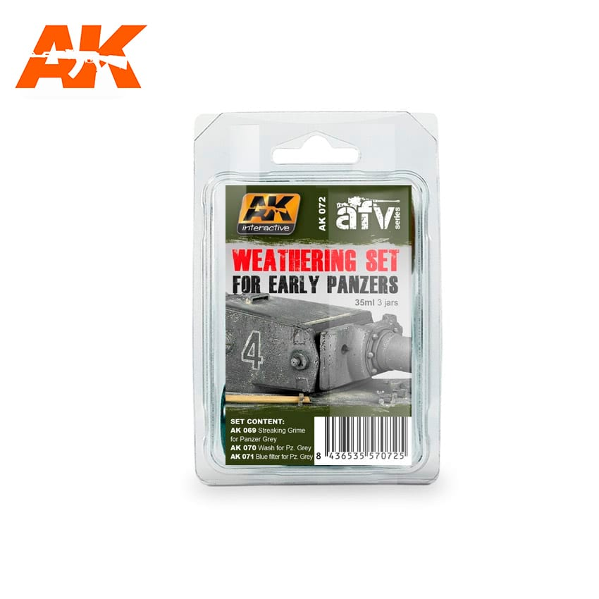 AK Interactive Early Panzers Weathering Set