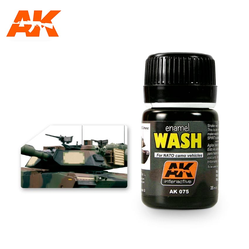 AK Interactive Wash For NATO Vehicles