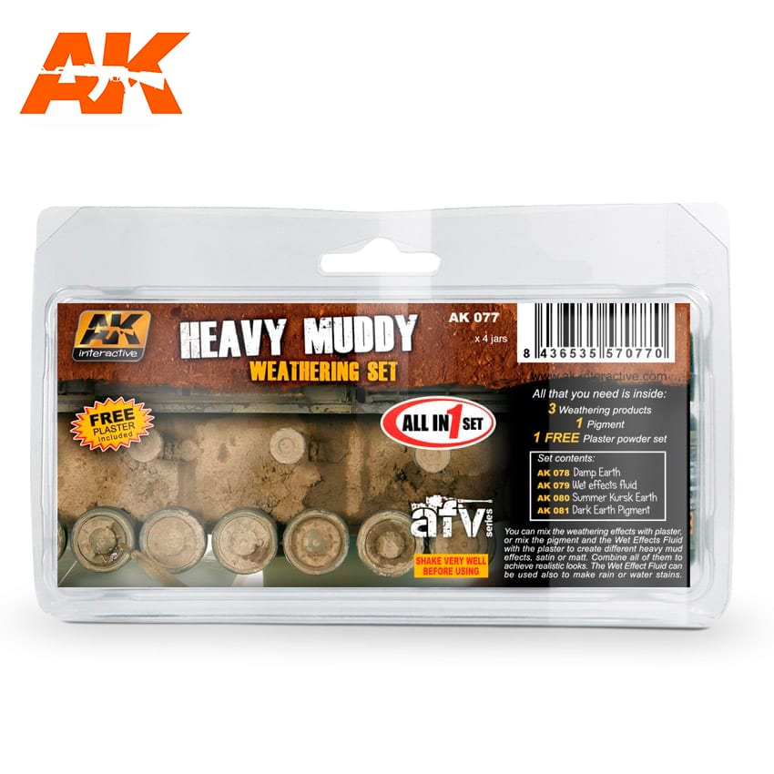 AK Interactive Heavy Muddy Set