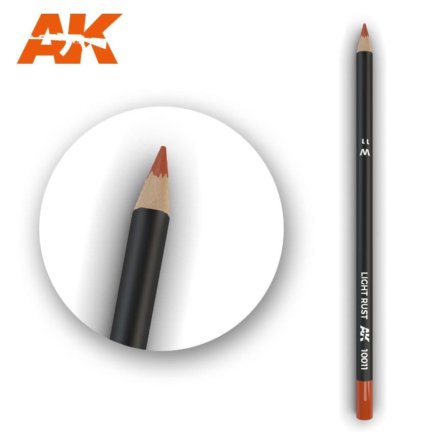 AK Interactive Watercolor Pencil Light Rust (Box - 5 Units)
