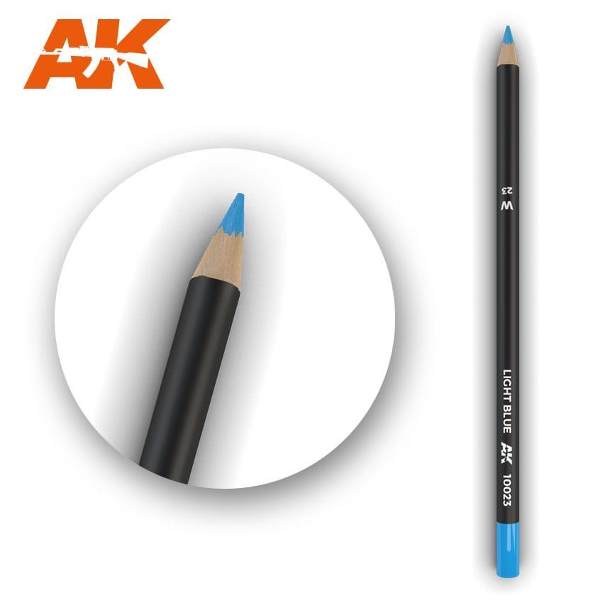 AK Interactive Watercolor Pencil Light Blue (Box - 5 Units)